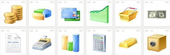 free Iconset Finance Icons