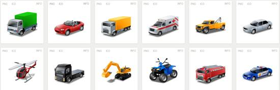 free Iconset! Iconslandtransport