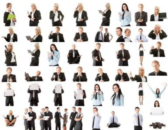 Free HD stock business people