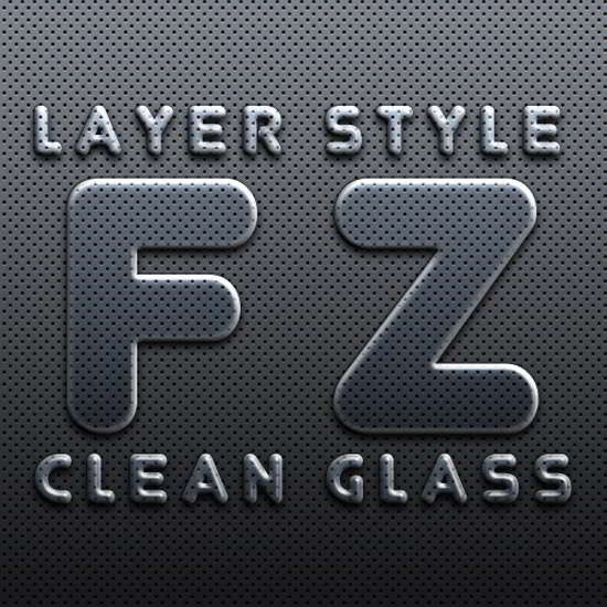 Glass Style free photoshop layer styles