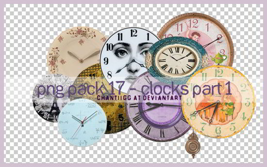 Clocks PNG