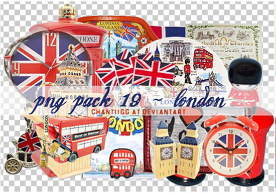 Free London Theme PNG Pack