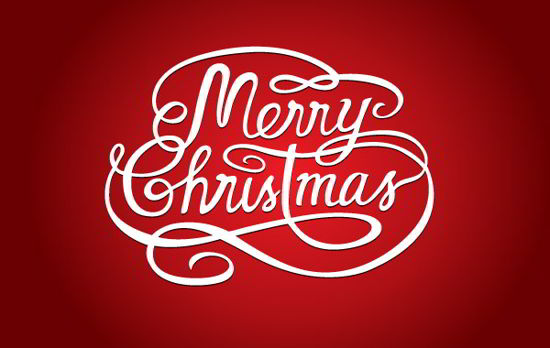 Merry Christmas vector Logo
