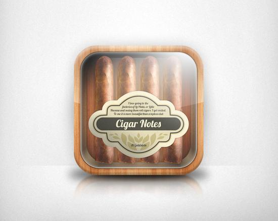 Cigar Notes  App Icon