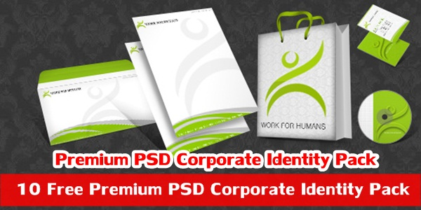 Free Premium PSD Corporate Identity Pack