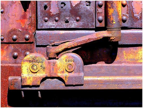 conceptual photography rust