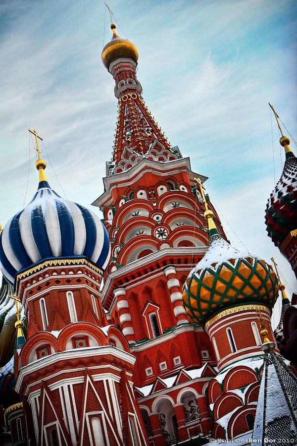 Saint Basil's Cathedral Urban Life Photos