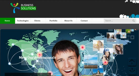 psd Business web template