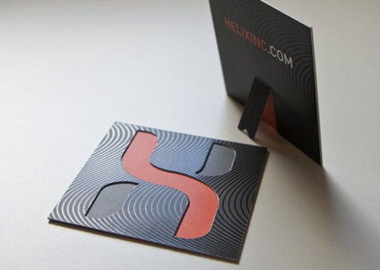 Helix Business Card Design