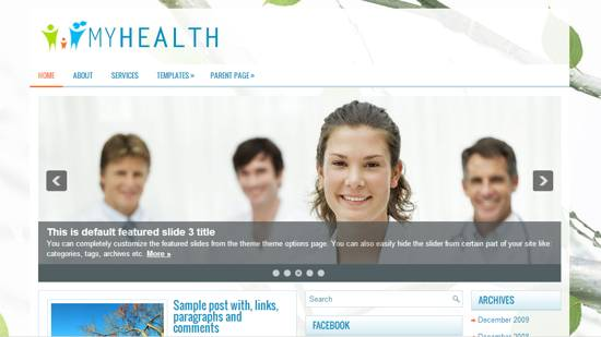 wp health theme