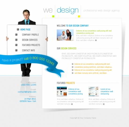 PSD Design Firm Web Playout