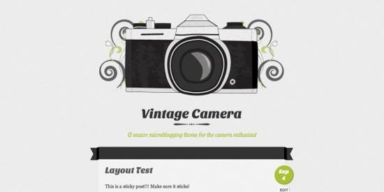 wp photography free theme