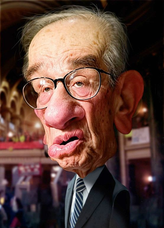 Alan Greenspan Forest Gump