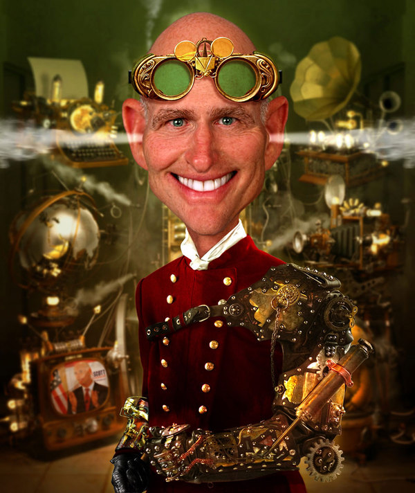 Steampunk Scott