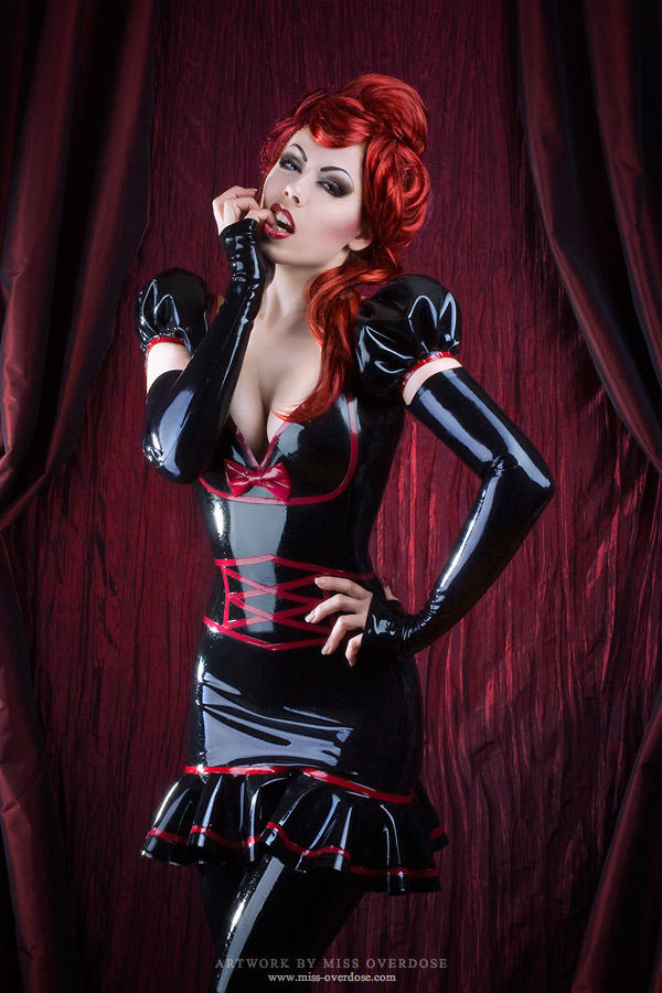 devilish girls latex dresses photography