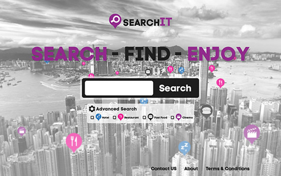 Create a Search Engine Homepage