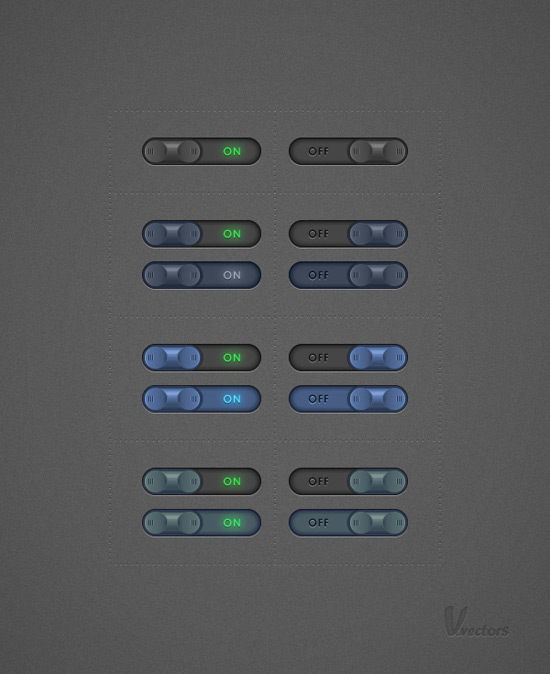 Create a Set of Toggle Buttons