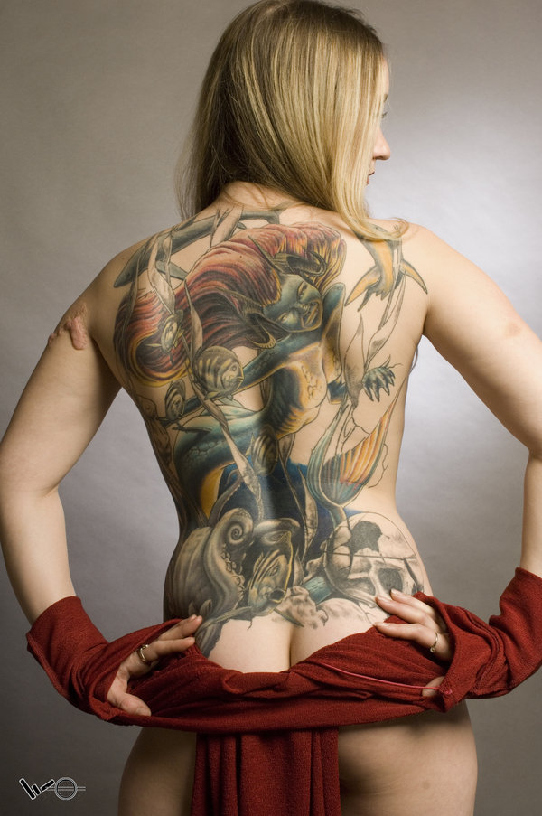 Full Back Tattoo Designs