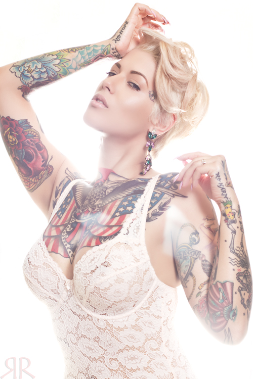 pin up model tattoos