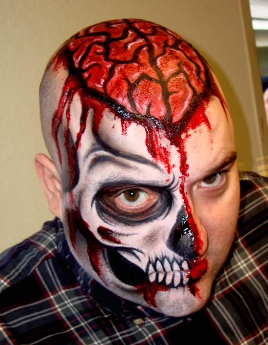 brains face painting