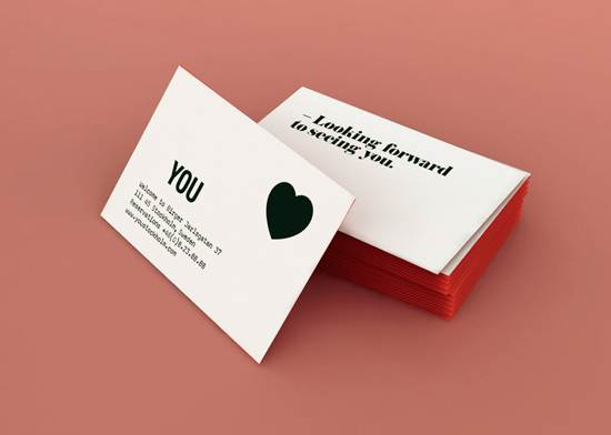 you business card design