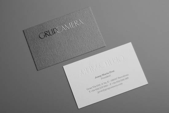 grup  camera business card design
