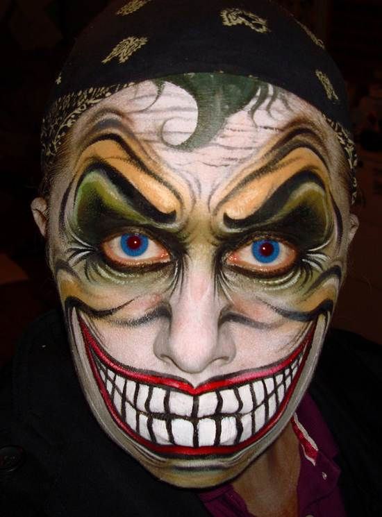 why so serious face painting