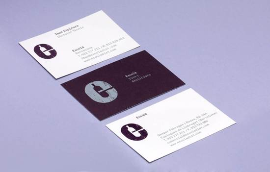 escola business card design
