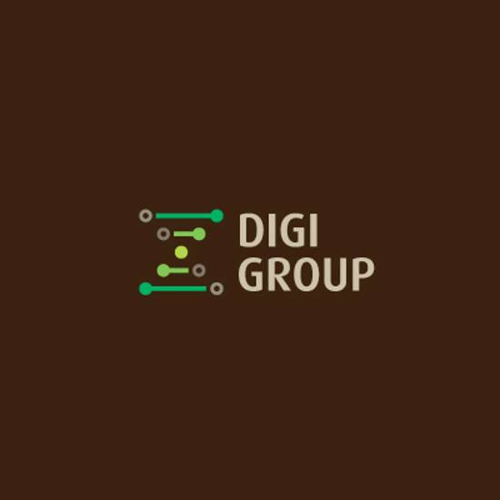 digi group logo design