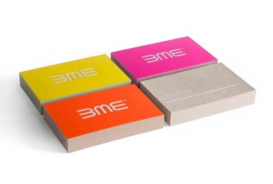 3me business card design