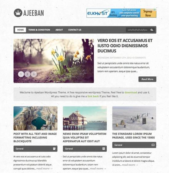 Free Responsive themes