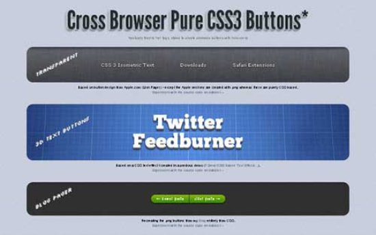 Cross Browser Pure CSS3 Button