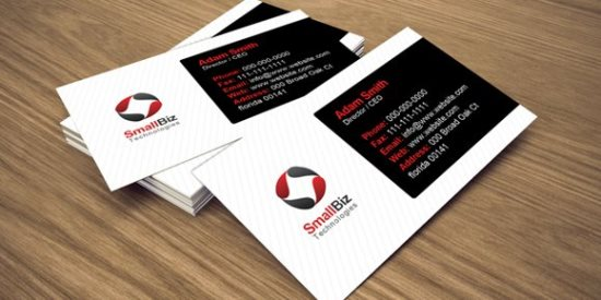 30 free business card templates free clean business card design flashek Image collections
