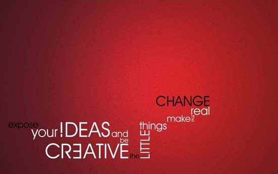 change your idea quote wallpaper