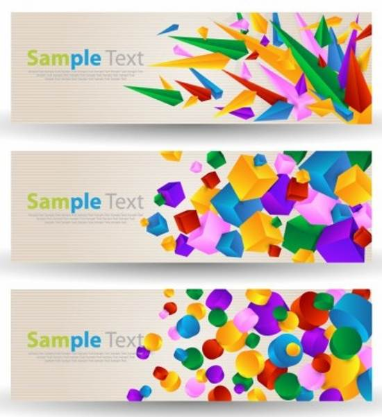 free abstract banner