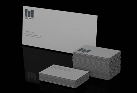 elevate business card design