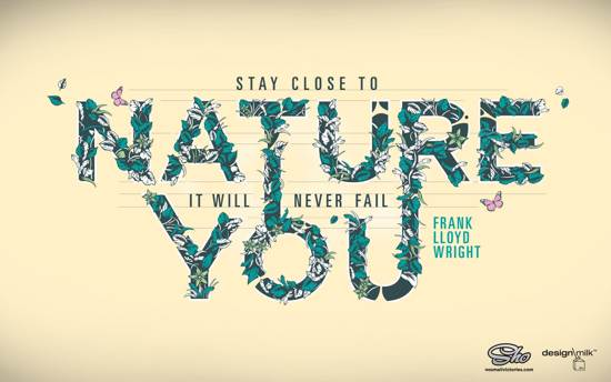 nature quote wallpaper