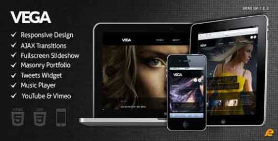 Download Vega HTML5 Responsive Template