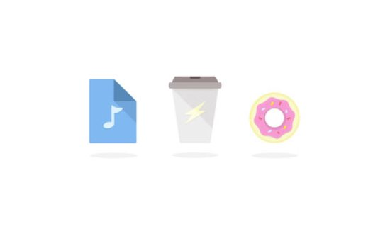 Friday Working Day Activity Icons