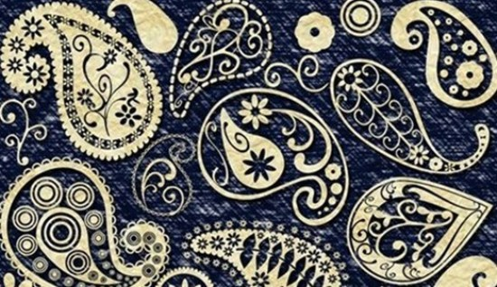 Funky Paisley Photoshop Brushes
