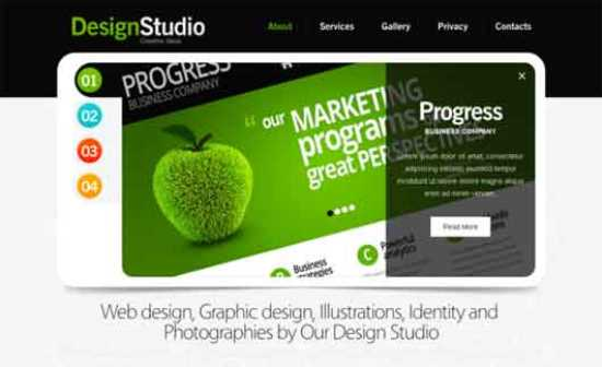 GreenStudio Html5 Theme