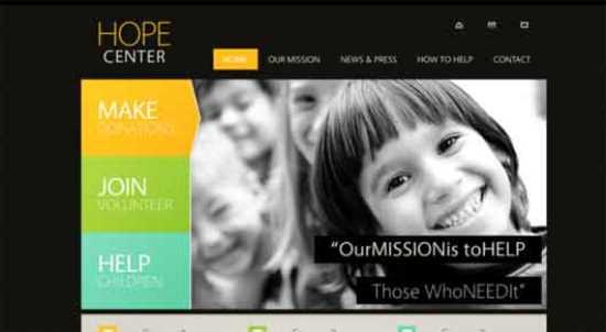 HopeCenter Html5 Theme