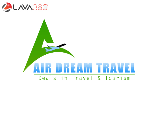 psd travel agency logo