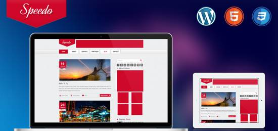 speedo wordpress theme