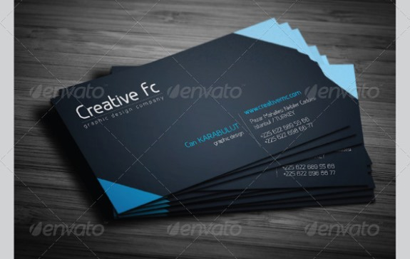 Corporate business cards 261