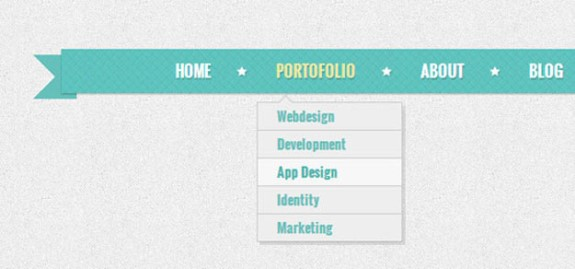Create a Retro Navigation Menu With Css3