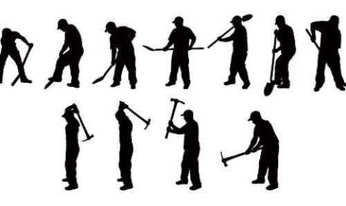 Digging Silhouettes