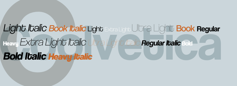coolvetica - free fonts