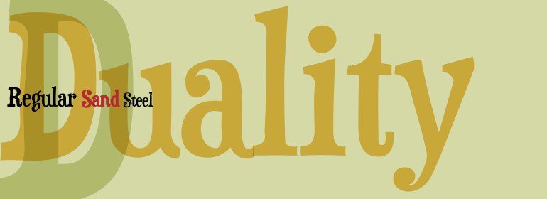 duality - free fonts