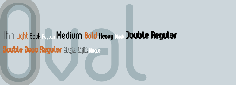 Oval Free Fonts